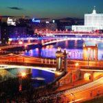 Обзорная экскурсия по вечерней Москве