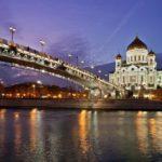 7 самых красивых мест ночной Москвы